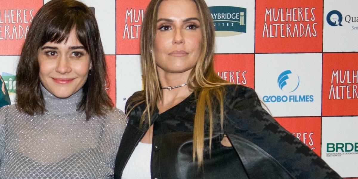 Alessandra Negrini e Deborah Secco curtem momento especial de vilãs na TV
