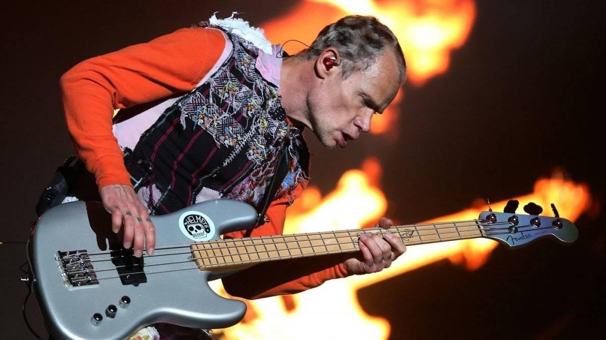 Flea, de Red Hot Chili Peppers | Foro: EFE