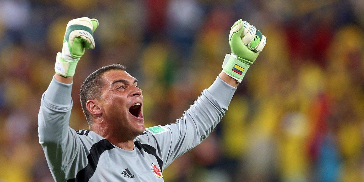 ¡Golazo de Egipto a Mondragón! Se acabó el récord de Faryd en los Mundiales