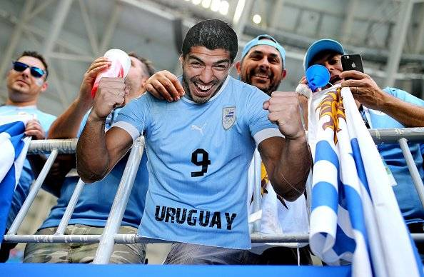 Getty Uruguay vs Rusia
