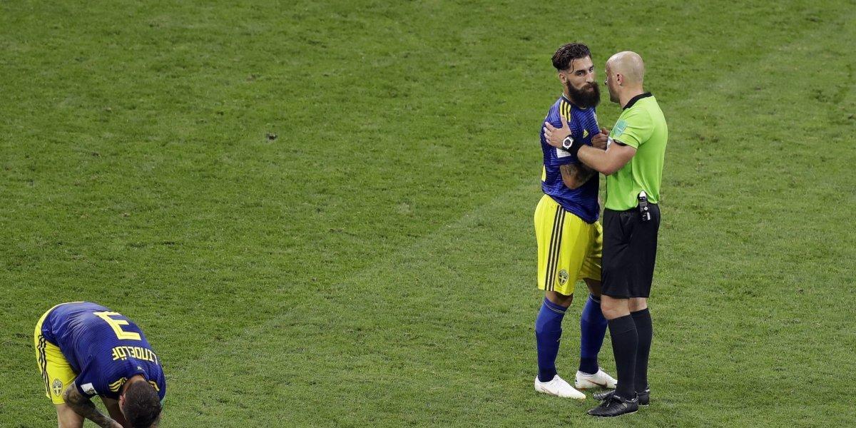 Rusia 2018: Jugador sueco denuncia comentarios racistas tras derrota