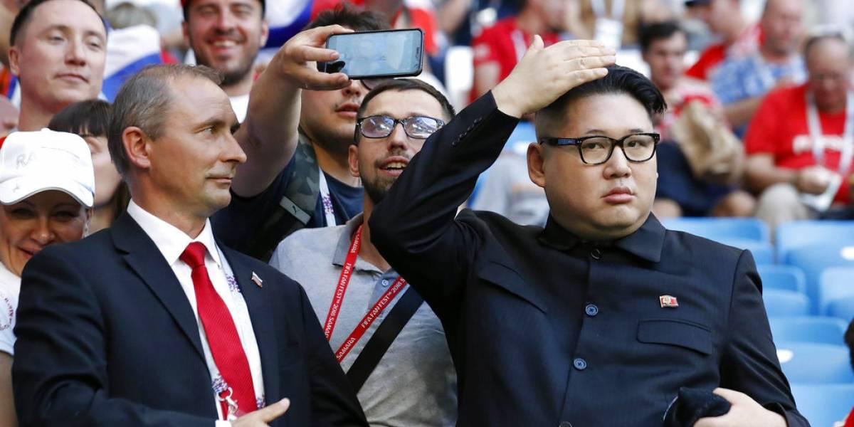 """""""Kim Jong-un"""" se suma a la fiebre futbolera y le da su apoyo a Uruguay en el Mundial de Rusia"""