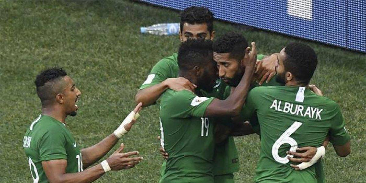 Arabia Saudita se fue feliz del Mundial de Fútbol Rusia 2018