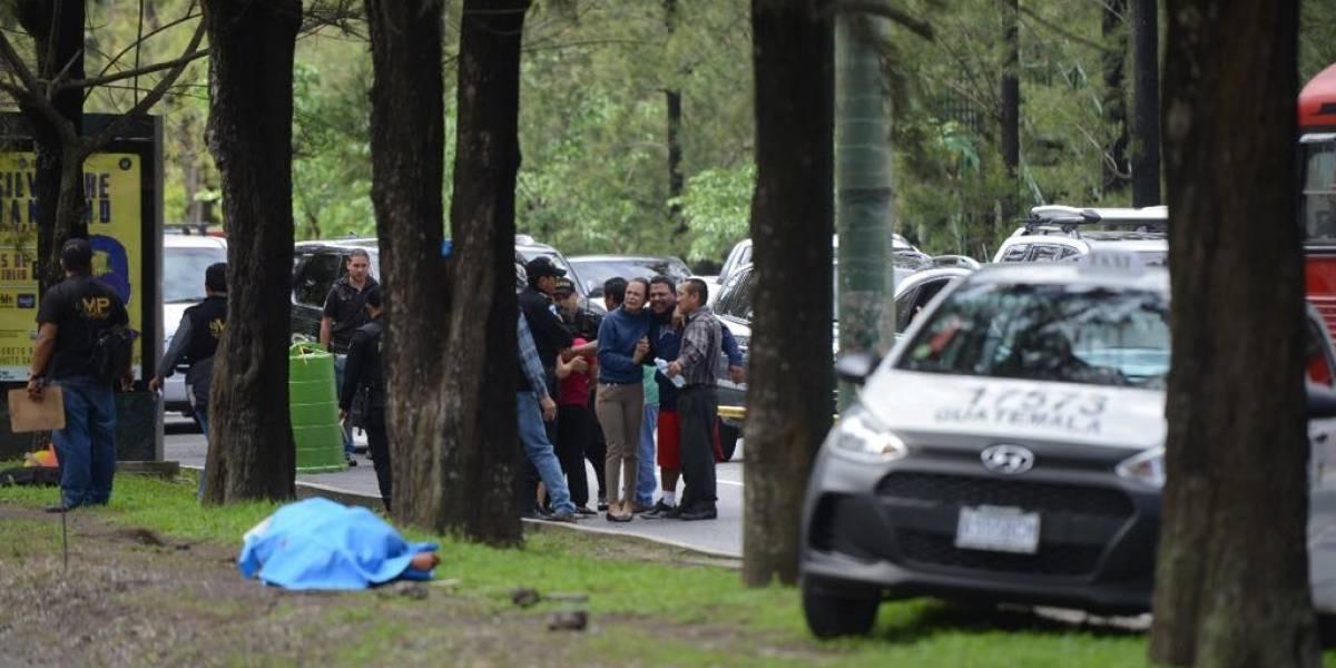 Tras discusión por incidente vial en bulevar Vista Hermosa, motoristas asesinan a dos taxistas