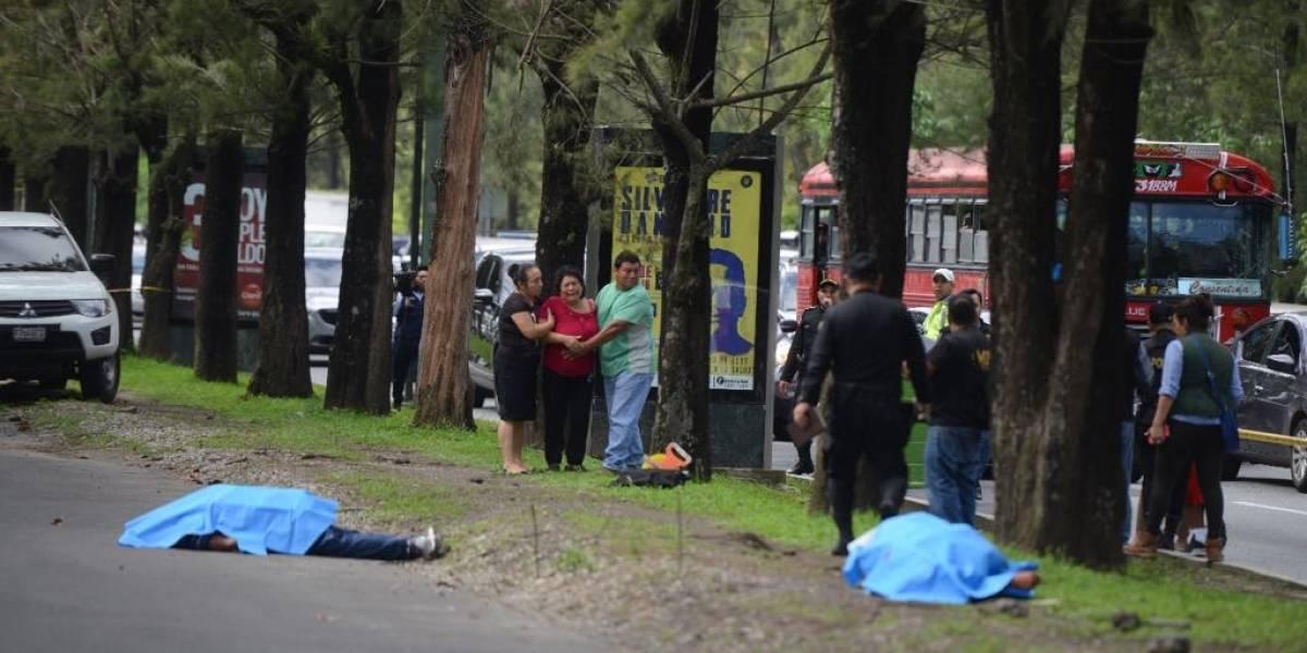 Dos fallecidos por múltiples impactos de bala tras ataque armado en bulevar Vista Hermosa, zona 15
