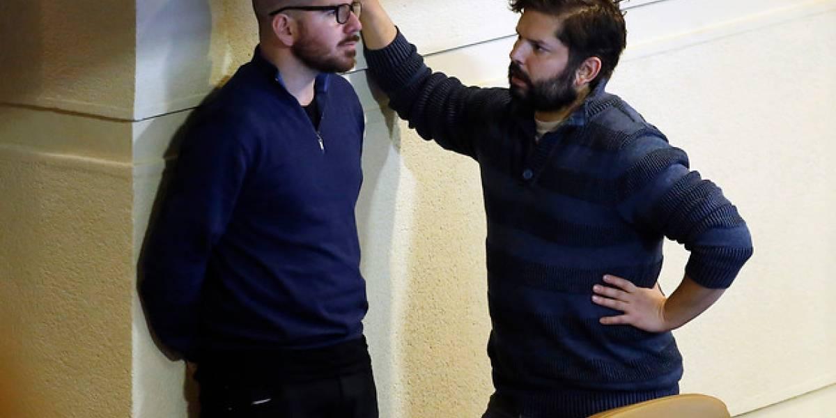 """¿Quiebre en el Frente Amplio? Boric responde tras polémica entre partidos y asegura que Jiles """"es una de los referentes como todos los diputados"""""""
