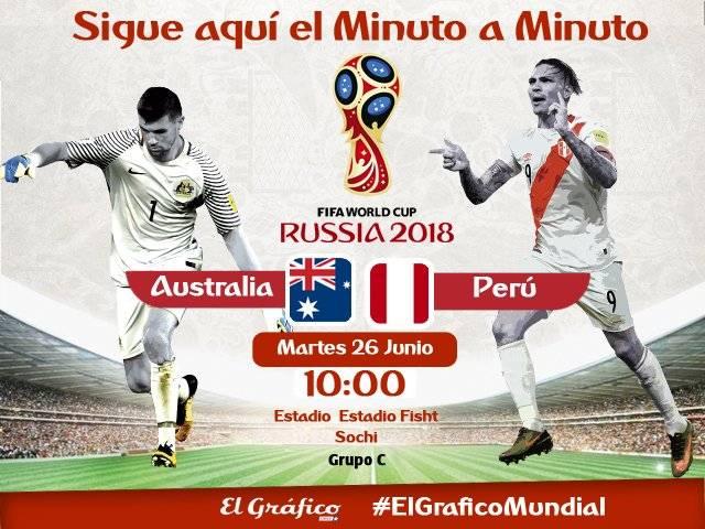 Australia vs. Perú