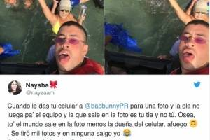 Bad Bunny regala dinero