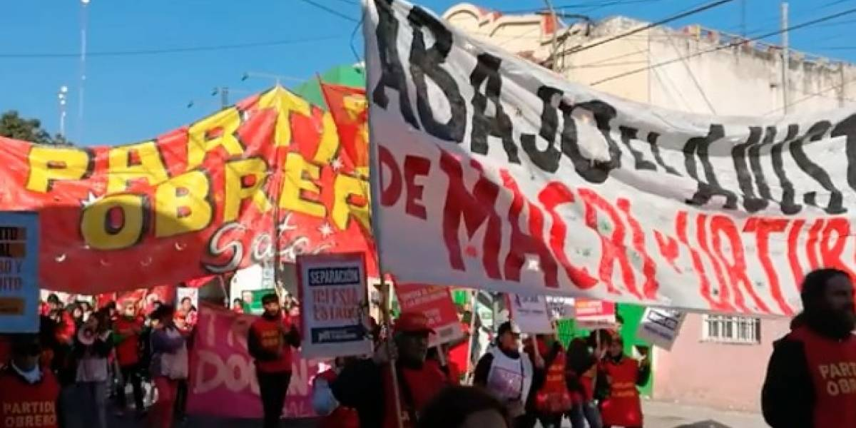 Argentina se paraliza por huelga nacional contra Macri y FMI