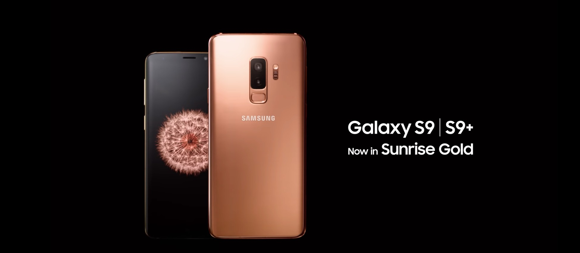 samsung galaxy s9 plus dorado video