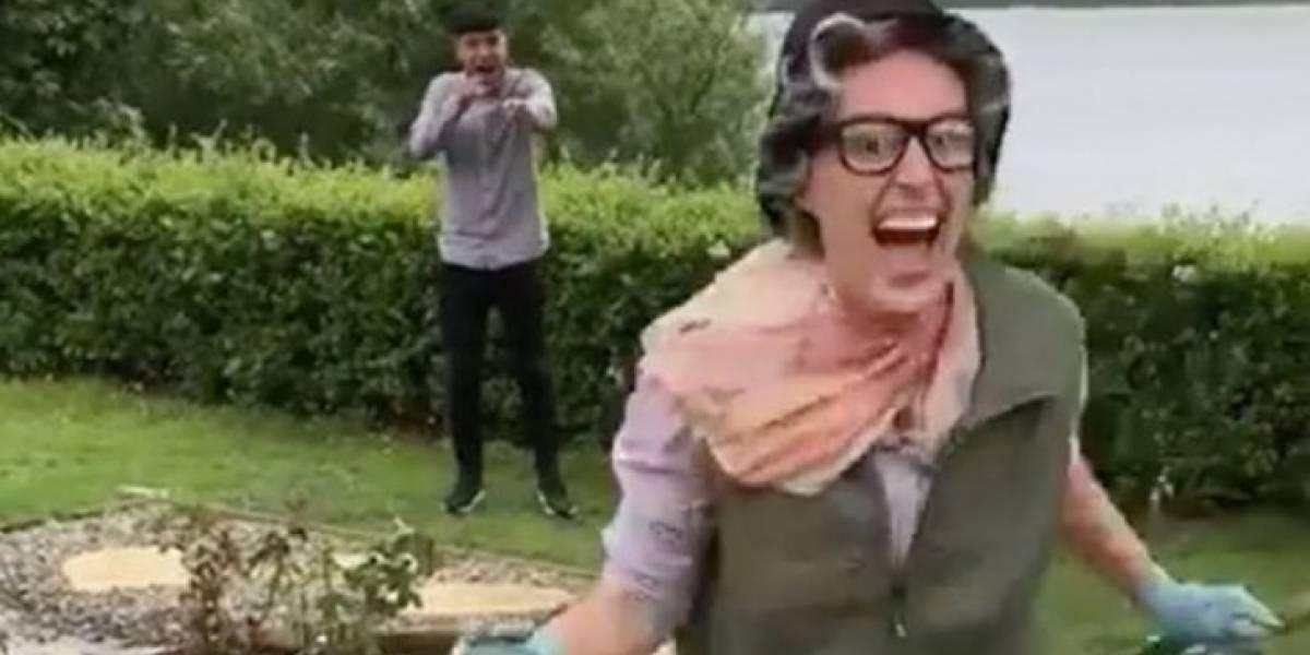 """Esta es una mujer comprometida: voló de EEUU al Reino Unido y se devolvió sólo para """"jugar a la pinta"""" con su amigo"""