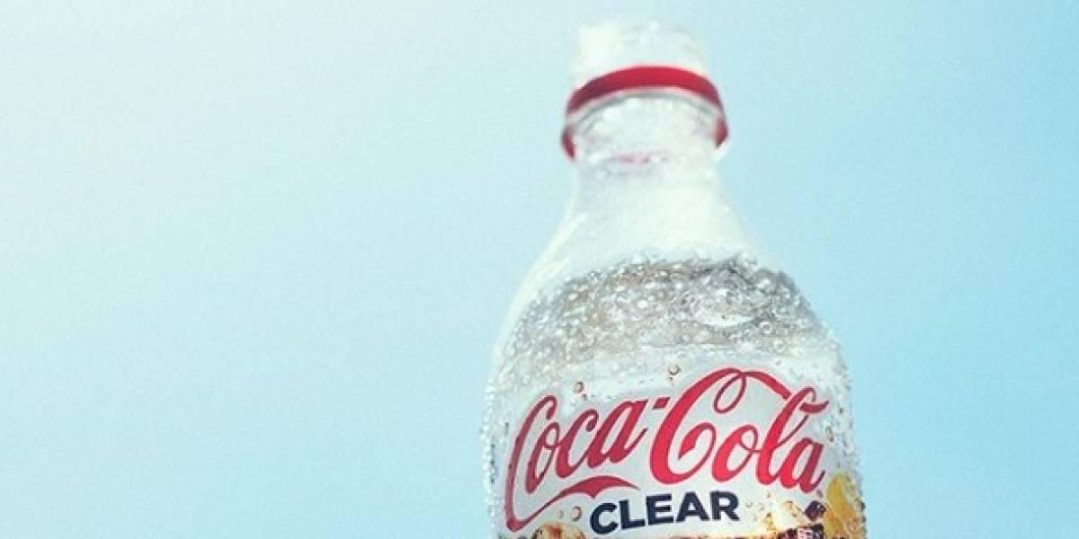Coca-Cola se reinventa y lanza una gaseosa transparente