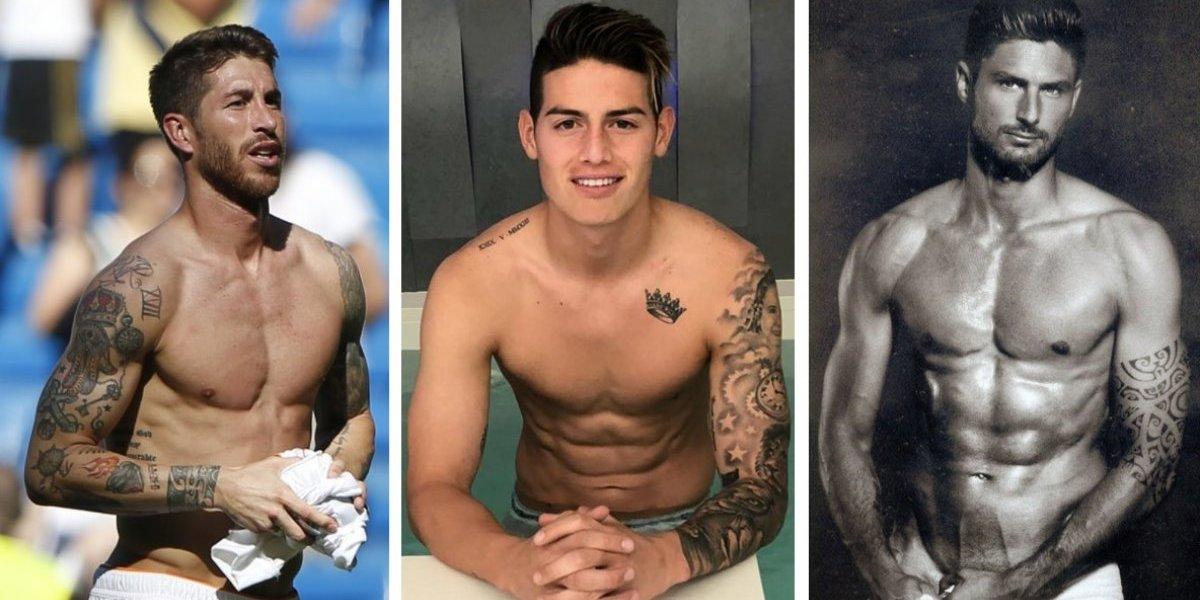 Los futbolistas más sexy del Mundial de Rusia presumen sus alucinantes tatuajes