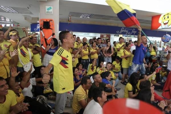 Riñas por partido de la selección Colombia
