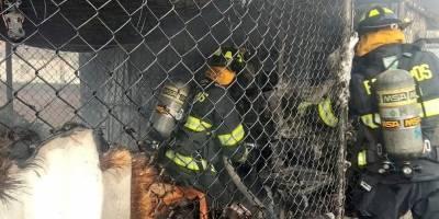 Conato de incendio estructural, en el sector de La Luz