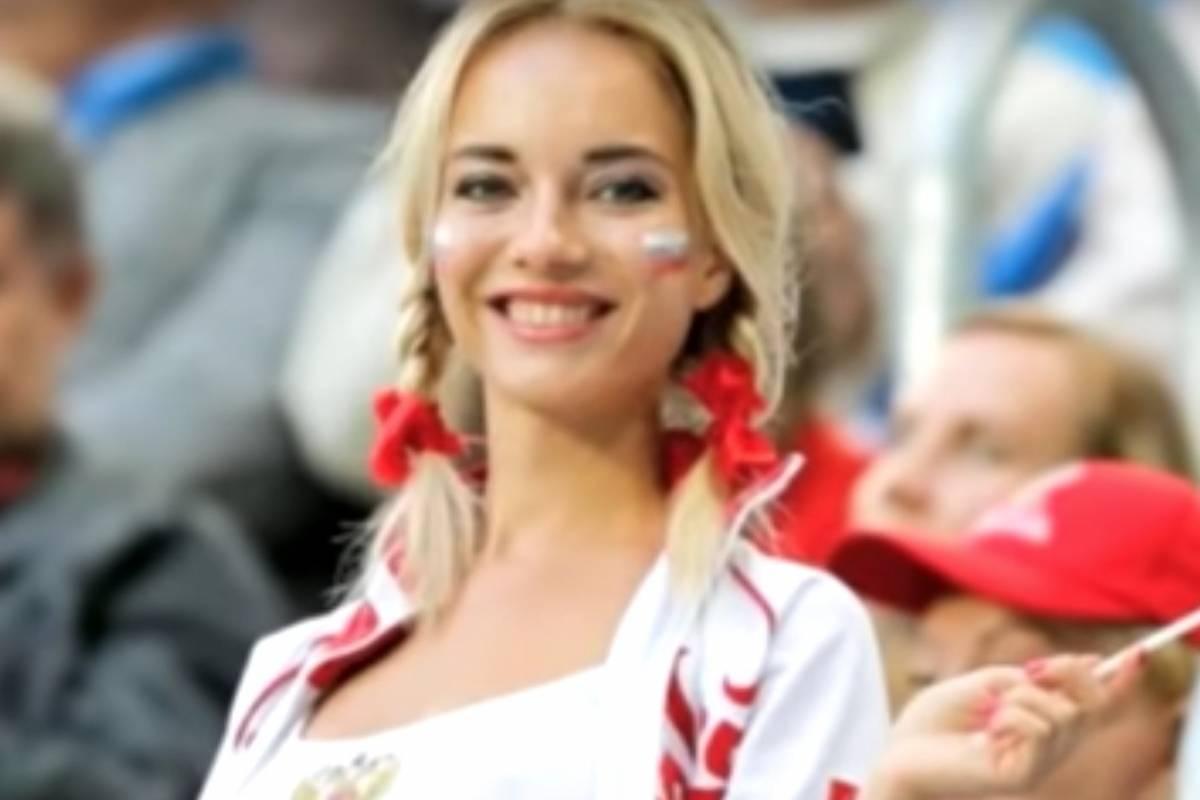 Natalia Nemtchinova, la hincha más sexy del Mundial de