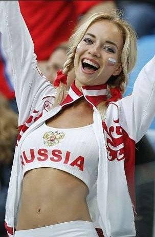 Natalia Nemtchinova, la hincha más sexy del Mundial de Rusia 2018 es estrella porno Internet
