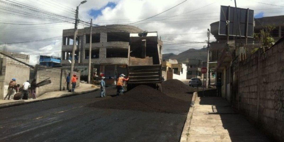Quito: Se realiza mejoras en la infraestructura vial