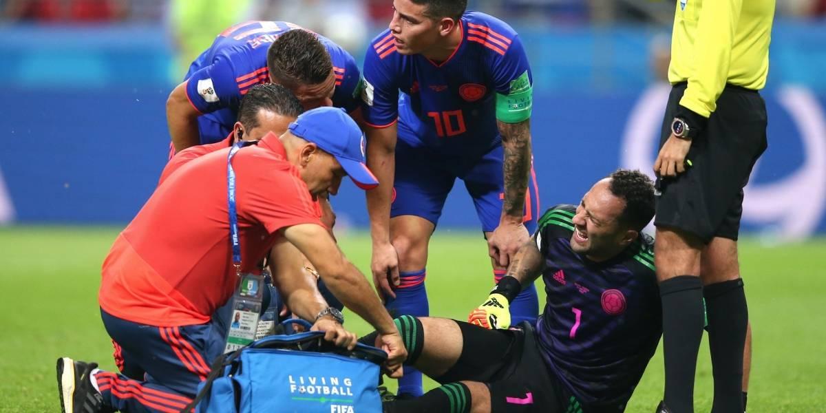 Se reveló primera información sobre la lesión de David Ospina con la Selección Colombia