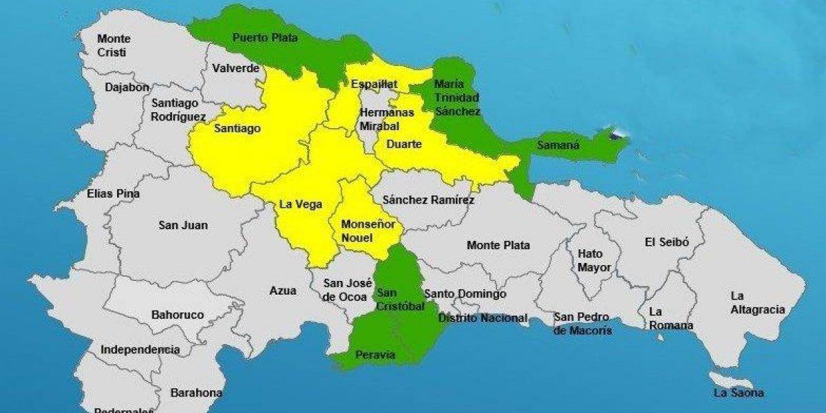El COE disminuye a cinco las provincias en alerta por lluvias