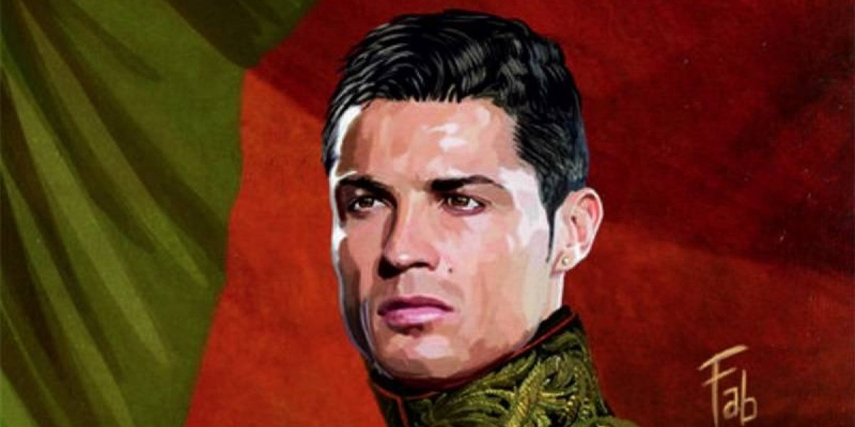 """Como dioses"": futbolistas convertidos en pinturas clásicas"