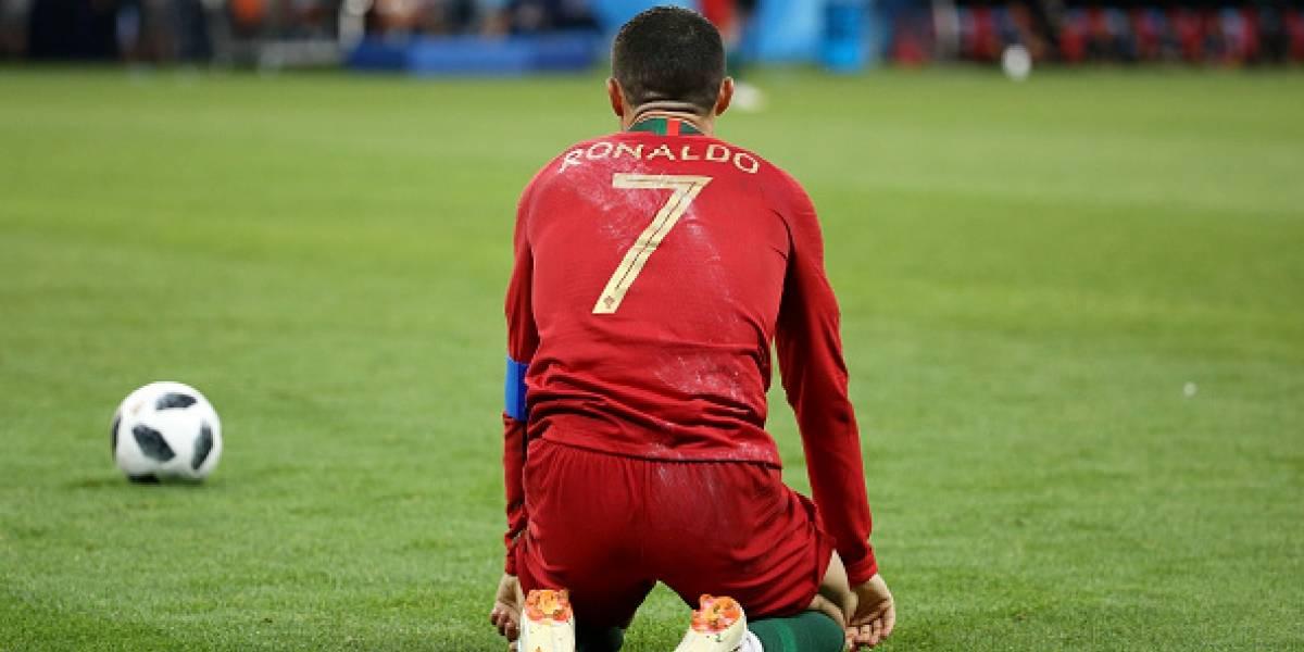Cristiano Ronaldo falla penal y publica viral mensaje en Twitter