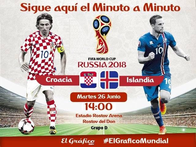 Croacia vs. Islandia