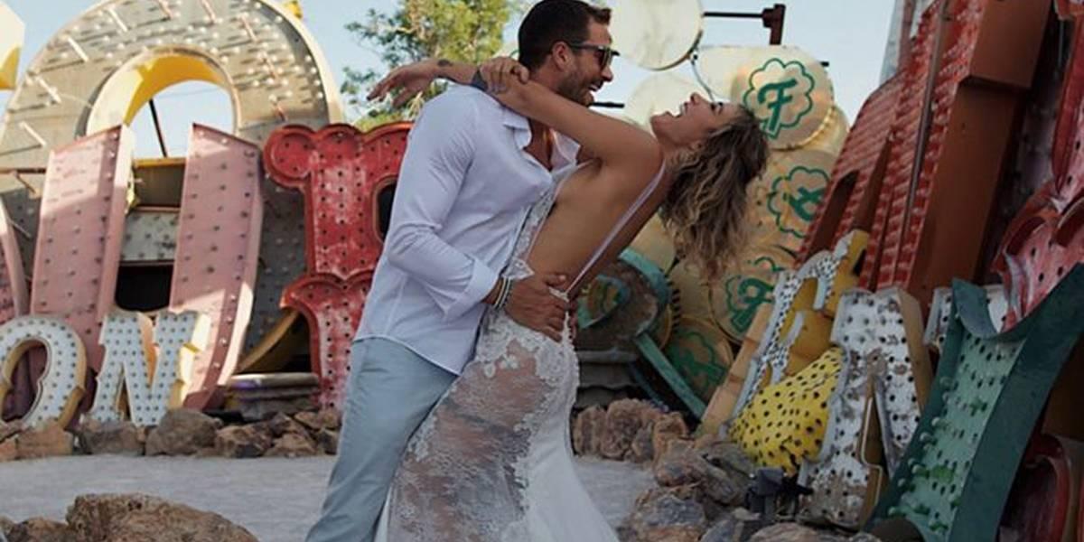 Gabriela Pugliesi e Erasmo Viana se casam novamente em Las Vegas