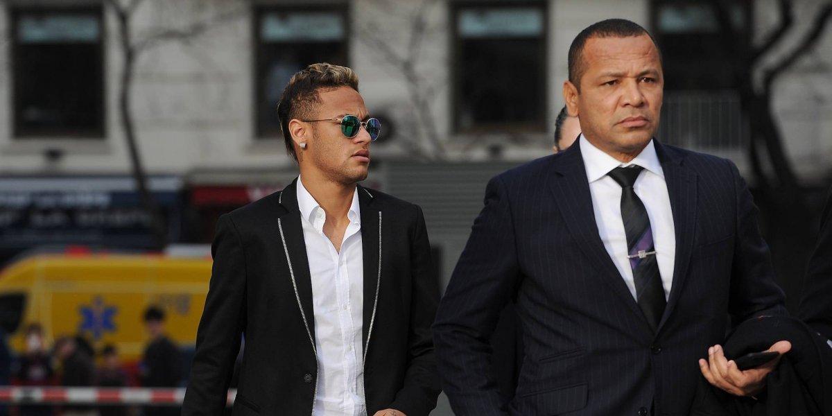 Critican a Neymar en redes sociales y su padre pide apoyo