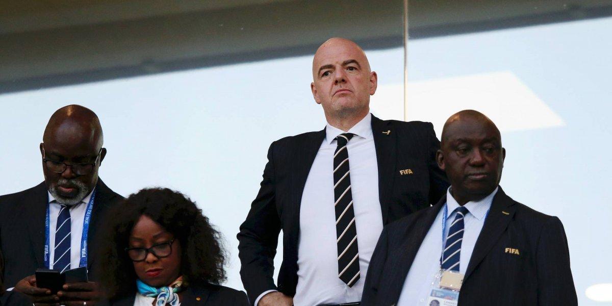 FIFA impone multas a jugadores y selecciones en Rusia 2018