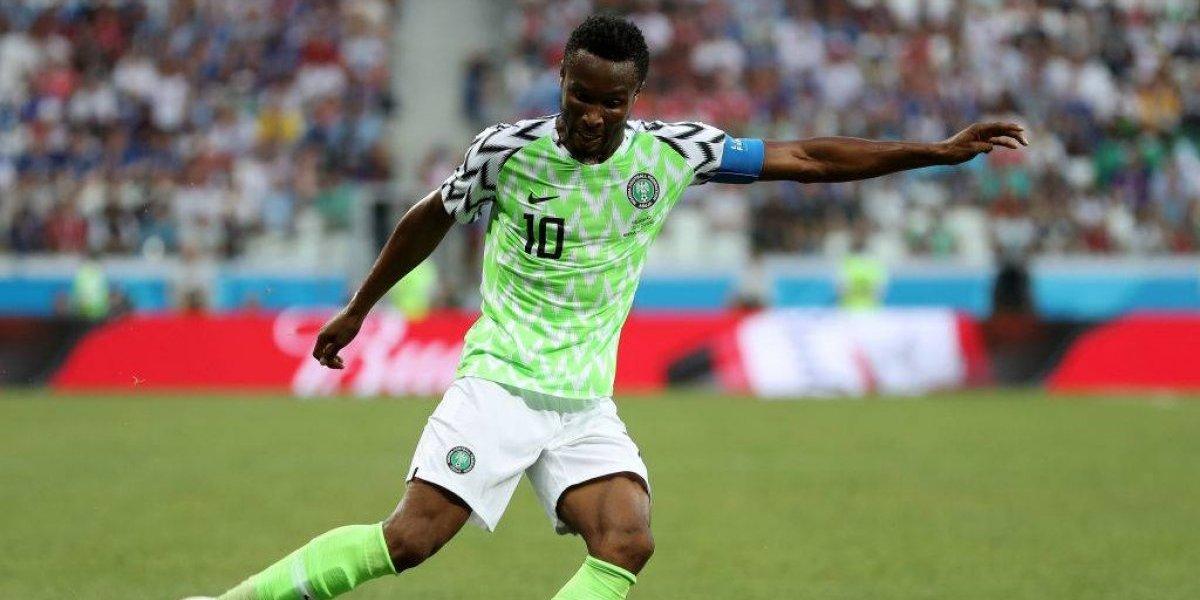 """Todo para eliminar a Argentina de Rusia 2018: Capitán de Nigeria jugará la """"final"""" con yeso"""