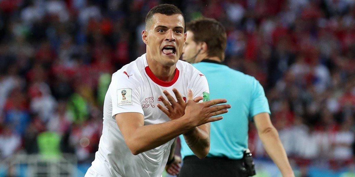 Xhaka y Shaqiri fueron multados por su celebración albanesa en la victoria de Suiza ante Serbia