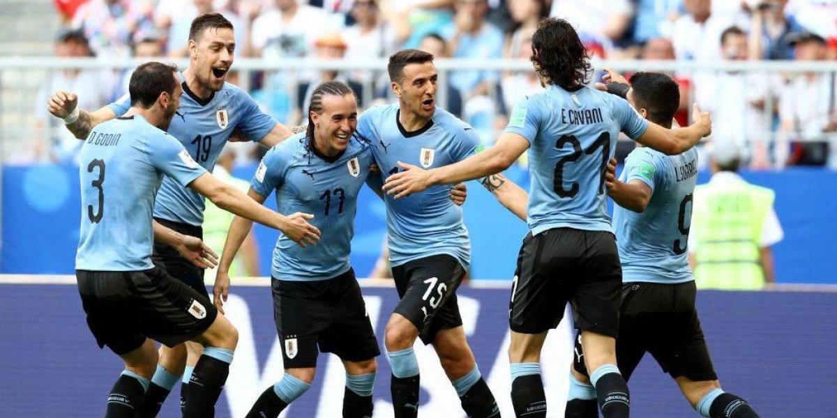 Uruguay bajó a Rusia y les mete miedo a todos con su invicto en el Mundial