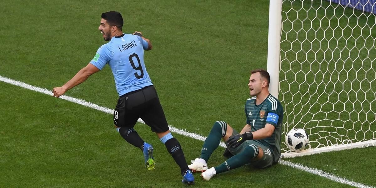 ¡Asalto al Kremlin! Uruguay goleó y terminó con el invicto de Rusia