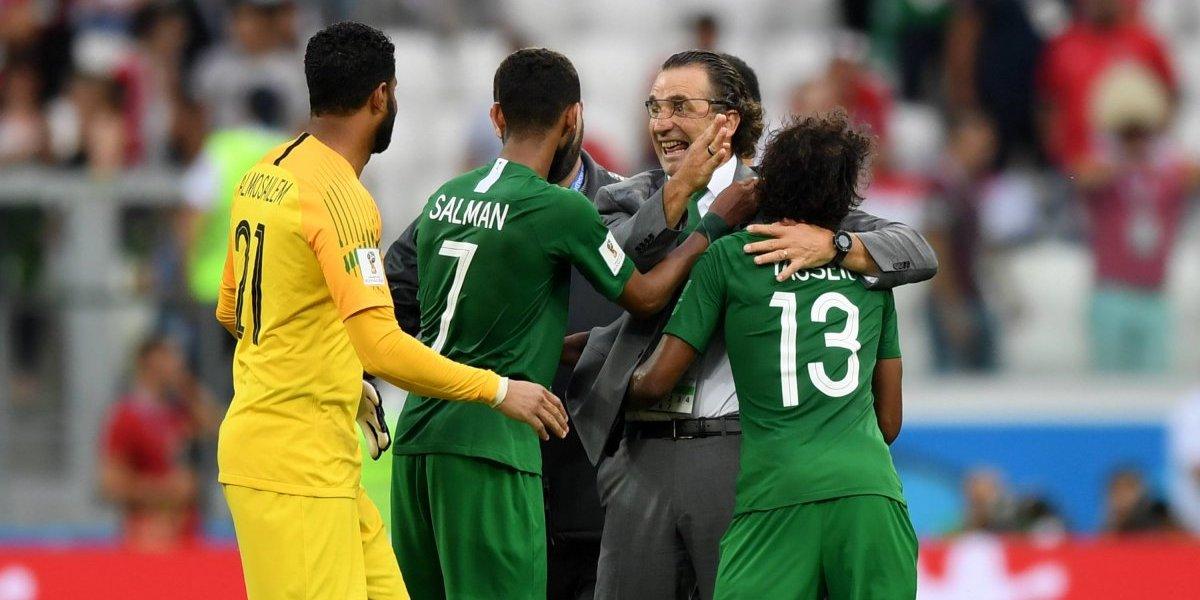 Pizzi salvó la plata: Arabia Saudita se despidió de Rusia con una victoria ante un decepcionante Egipto