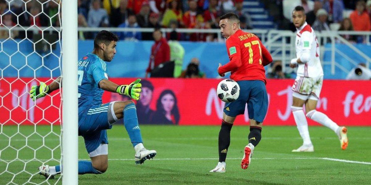 """España empató con Marruecos, ganó el """"grupo de la muerte"""" sufriendo y ahora mira a Rusia"""
