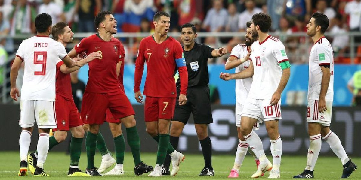 Portugal sufre con Irán pero avanza a octavos de final de Rusia 2018