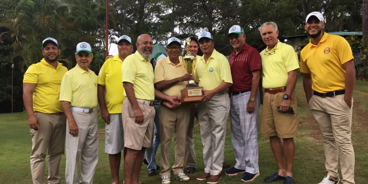 Asociación de golf de La Vega vuelve a coronarse al ganar la Copa Rotativa