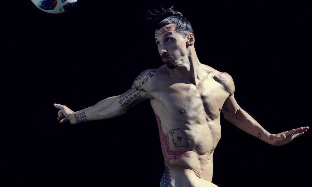 Zlatan Ibrahimovic lució su físico y habló su carrera Body Issue-ESPN