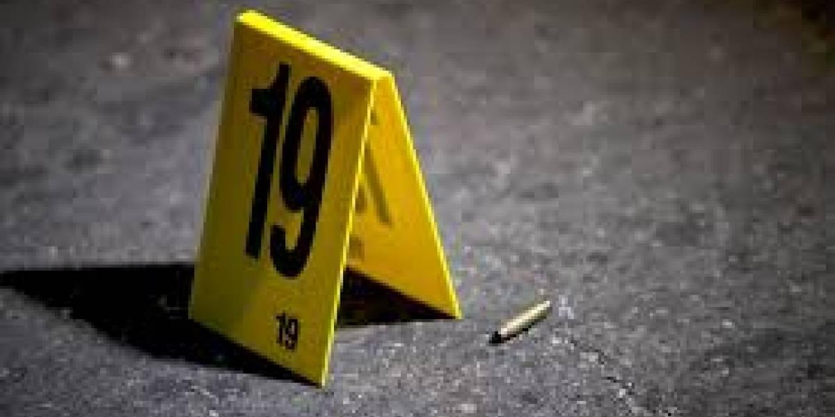 Bala perdida mata a niño de dos años