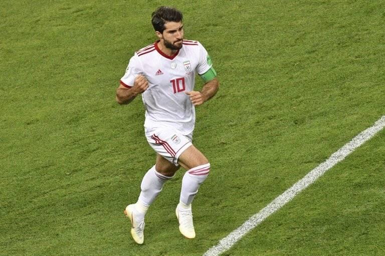 Karim Ansari marcó el empate para Irán