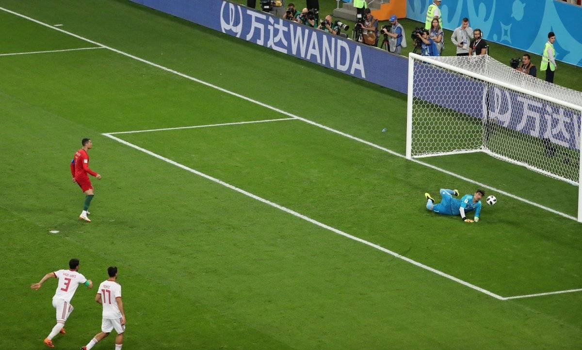 Pênalti de Cristiano Ronaldo Lucy Nicholson/Reuters
