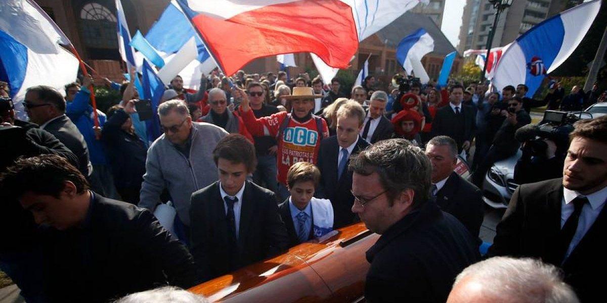 Con Pellegrini, Salah y Prieto presentes: Así fue la conmovedora despedida a Alberto Fouillioux