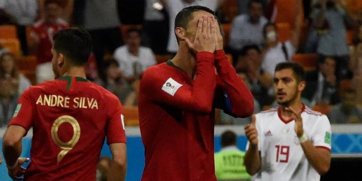 Revientan a Cristiano Ronaldo por fallar un penalti y lo comparan con Messi
