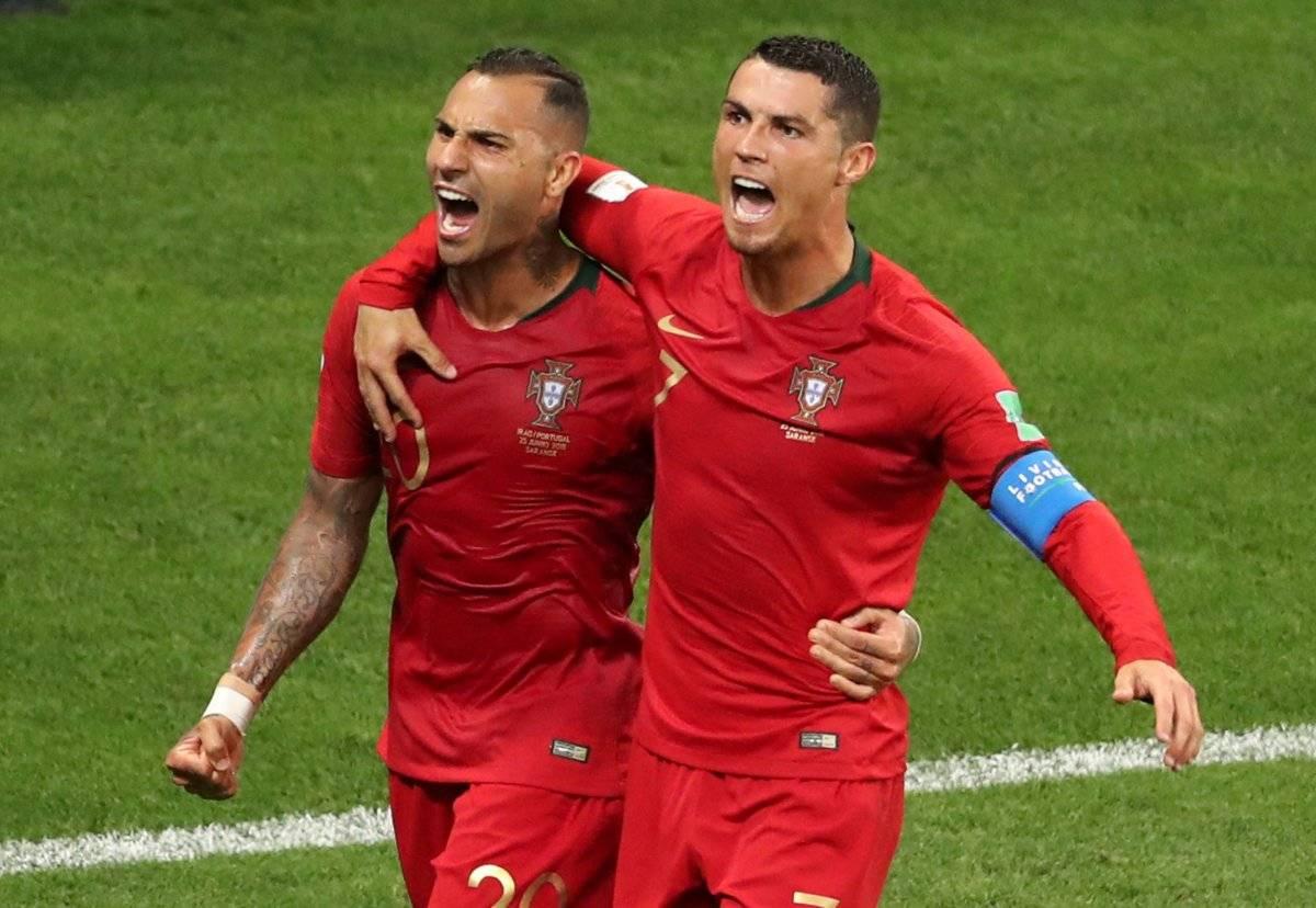 Ricardo Quaresma e Cristiano Ronaldo Lucy Nicholson/Reuters
