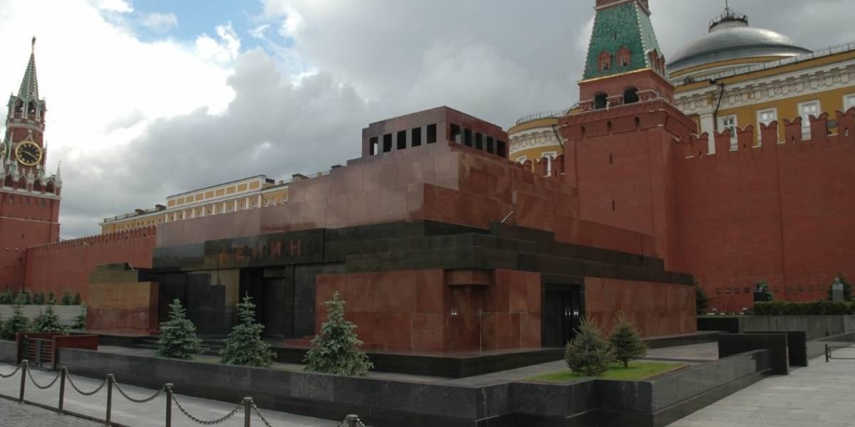 El Mausoleo de Lenin, sensación en medio de la euforia del Mundial