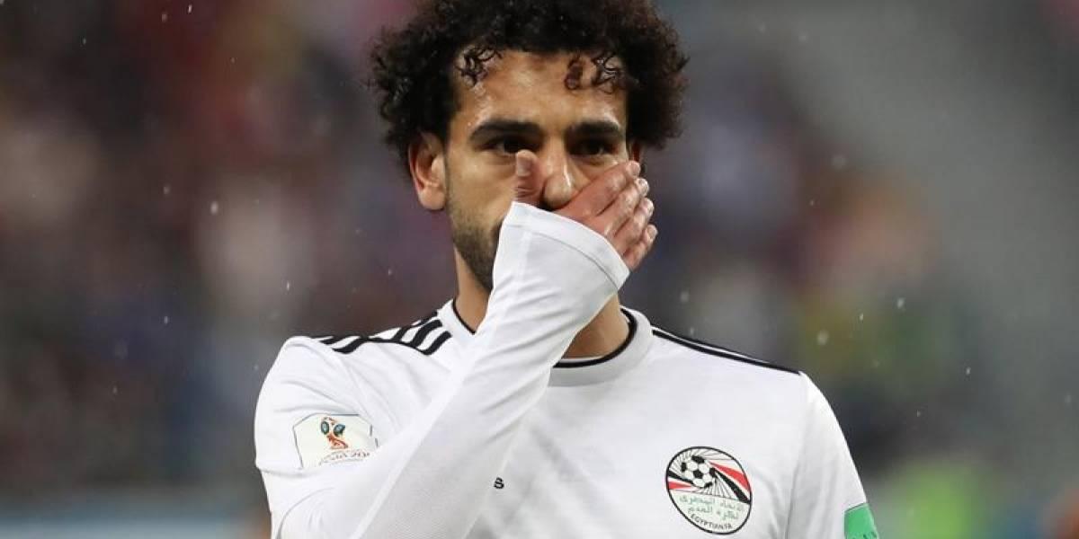 Mohamed Salah renunciaría a la selección de Egipto por polémica foto