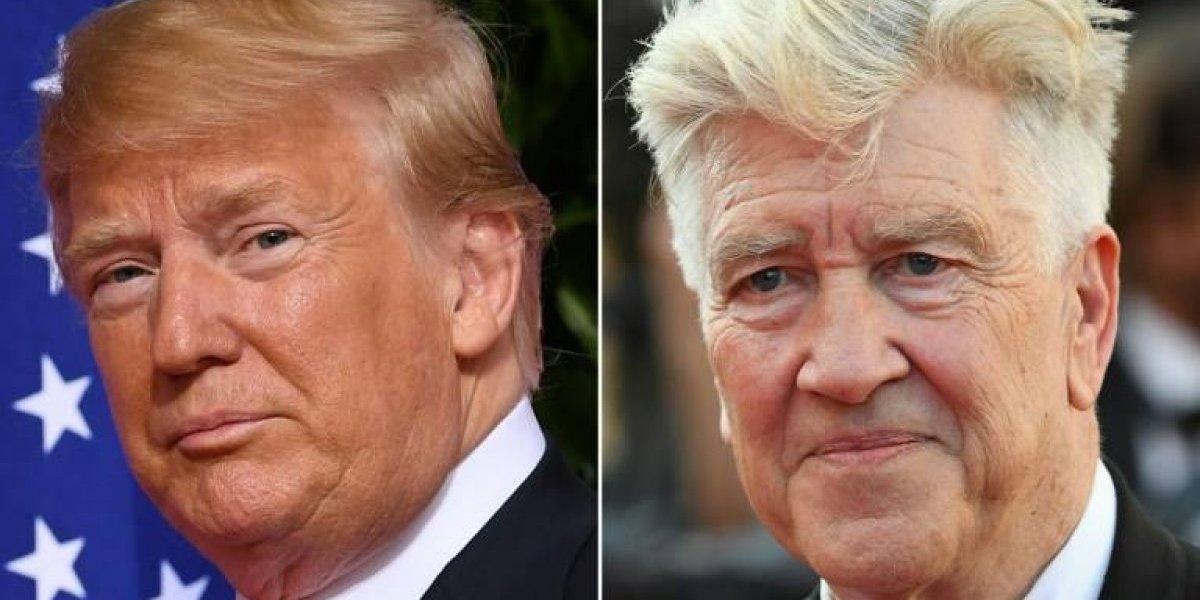 Trump podría estar entre los mejores presidentes de EEUU, dice cineasta David Lynch