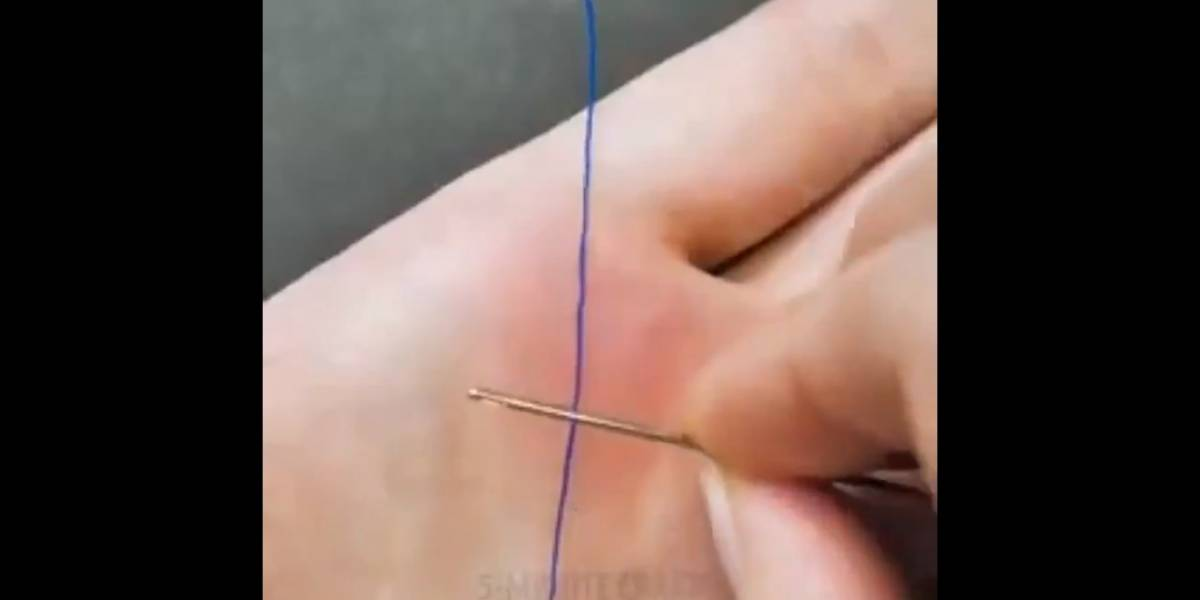 Incrível: Truque simples com agulha vai mudar sua vida