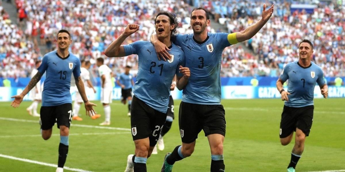 Uruguay perfecto en el Mundial de Fútbol Rusia 2018